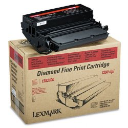 Lexmark - 1382100 - Lexmark 1382100 Original Toner Cartridge - Laser - 7000 Pages - Black - 1 Each