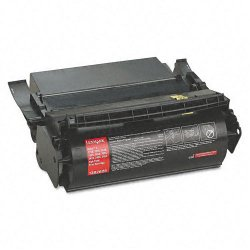Lexmark - 1382625 - Lexmark Black Toner Cartridge - Laser - High Yield - 17600 Page - 1 Each