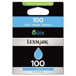 Lexmark - 14N0900 - Lexmark No. 100 Original Ink Cartridge - Inkjet - Cyan - 1 Each