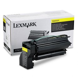 Lexmark - 15G032Y - Lexmark Yellow Toner Cartridge - Yellow - Laser - 15000 Page - 1