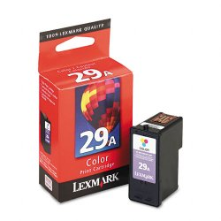 Lexmark - 18C1529 - Lexmark No. 29A Color Ink Cartridge - Color - Inkjet - 1 Each