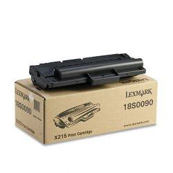 Lexmark - 18S0090 - Lexmark Black Toner Cartridge - Laser - Standard Yield - 3200 Page - 1 Each