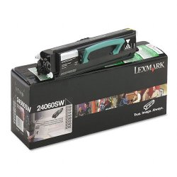 Lexmark - 24060SW - Lexmark Return Program Black Toner Cartridge - Laser - 2500 Page - Black