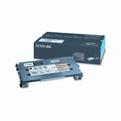 Lexmark - C500H2KG - Lexmark Black High Yield Toner Cartridge - Laser - 5000 Page - 1 Each