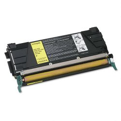 Lexmark - C5222YS - Lexmark Yellow Toner Cartridge - Yellow - Laser - 3000 Page Color, 4000 Page Black