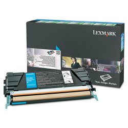Lexmark - C5226CS - Lexmark Cyan Standard Yield Return Program Toner Cartridge - Laser - Cyan