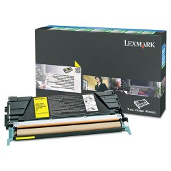 Lexmark - C5226YS - Lexmark Yellow Standard Yield Return Program Toner Cartridge - Laser - 1 Each