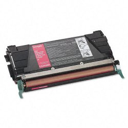 Lexmark - C5240MH - Lexmark Toner Cartridge - Laser - High Yield - 5000 Pages - Magenta - 1 Each