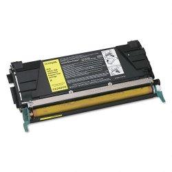 Lexmark - C5240YH - Lexmark Yellow High Yield Return Program Toner Cartridge - Laser - 5000 Page - 1 Each
