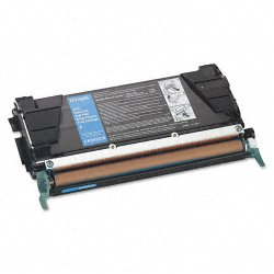 Lexmark - C5340CX - Lexmark Extra High Capacity Cyan Toner Cartridge - Laser - Extra High Yield - 7000 Page - 1 Each