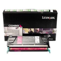 Lexmark - C5346MX - Lexmark Extra High Yield Return Program Magenta Toner Cartridge - Laser - Magenta