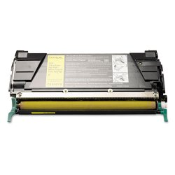 Lexmark - C5346YX - Lexmark Extra High Yield Return Program Yellow Toner Cartridge - Laser - Yellow