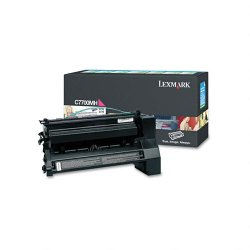 Lexmark - C7700MH - Lexmark Toner Cartridge - Laser - High Yield - 10000 Pages - Magenta - 1 Each