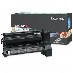 Lexmark - C780A1MG - Lexmark Toner Cartridge - Laser - High Yield - 6000 Pages - Magenta - 1 Each