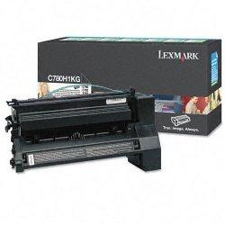 Lexmark - C780H1KG - Lexmark Return Program High Yield Black Toner Cartridge - Laser - High Yield - 10000 Page - 1 Each