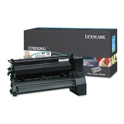 Lexmark - C782X2KG - Extra High Yield Black Toner Cartridge for C782n, C782dn, C782dtn and X782e Printers