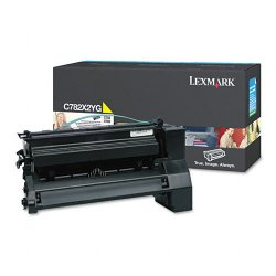 Lexmark - C782X2YG - Lexmark Extra High Yield Yellow Toner Cartridge for C782n, C782dn, C782dtn and X782e Printers - Laser - 15000 Page - 1 Each