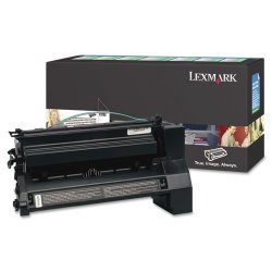Lexmark - C782X4KG - Lexmark Extra High Yield Return Program Black Toner Cartridge - Laser - 15000 Page - Black