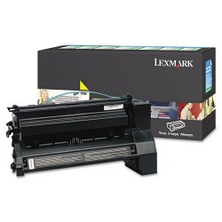 Lexmark - C782X4YG - Lexmark Extra High Yield Return Program Yellow Toner Cartridge - Laser - 15000 Page - Yellow
