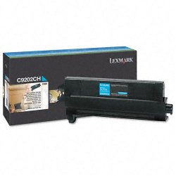 Lexmark - C9202CH - Lexmark Original Toner Cartridge - Laser - 14000 Pages - Cyan - 1 Each