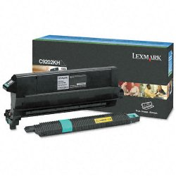 Lexmark - C9202KH - Lexmark Toner Cartridge - Laser - 15000 Pages - Black - 1 Each