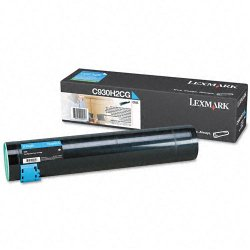 Lexmark - C930H2CG - Lexmark Original Toner Cartridge - Laser - 24000 Pages - Cyan - 1 Each