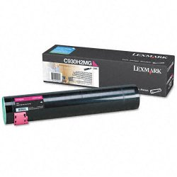 Lexmark - C930H2MG - Lexmark Original Toner Cartridge - Laser - 24000 Pages - Magenta - 1 Each