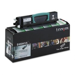 Lexmark - E450A11A - Lexmark Original Toner Cartridge - Laser - 6000 Pages - Black - 1 Each