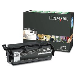 Lexmark - T650A11A - Lexmark Original Toner Cartridge - Laser - 7000 Pages - Black - 1 Each