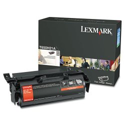 Lexmark - T650H21A - Lexmark Original Toner Cartridge - Black - Laser - 25000 Pages - 1 Each