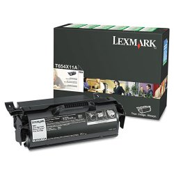 Lexmark - T654X11A - Lexmark Extra High Yield Return Program Black Toner Cartridge - Laser - 36000 Page - 1 Each