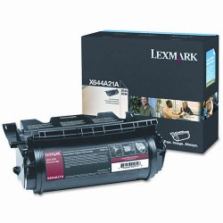 Lexmark - X644A21A - Lexmark Toner Cartridge - Laser - Standard Yield - 10000 Pages - Black - 1 / Pack