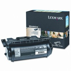 Lexmark - X644H01A - Lexmark Black Return Program Toner Cartridge - Black - Laser - 21000 Page