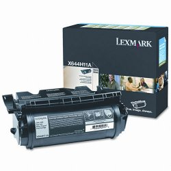 Lexmark - X644H11A - Lexmark X644H11A Toner Cartridge - Laser - High Yield - 21000 Pages - Black - 1 Each