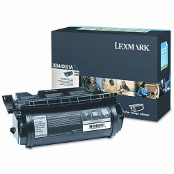 Lexmark - X644X01A - Lexmark Extra High Yield Return Program Toner Cartridge - Black - Laser - 32000 Page