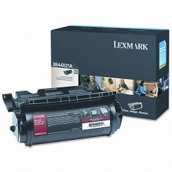 Lexmark - X644X21A - Lexmark Original Toner Cartridge - Laser - 32000 Pages - Black - 1 Each