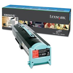 Lexmark - X860H21G - Lexmark Original Toner Cartridge - Laser - 35000 Pages - Black - 1 Each