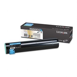 Lexmark - X945X2CG - Lexmark Toner Cartridge - Laser - High Yield - 22000 Pages - Cyan - 1 Each