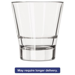 Libbey - 10031009367129 - Endeavor Rocks Glasses, 12 oz, Clear, Double Old Fashioned Glass, 12/Carton