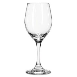 Libbey - 10031009019561 - Perception Glass Stemware, Wine, 11oz, 7 7/8 Tall