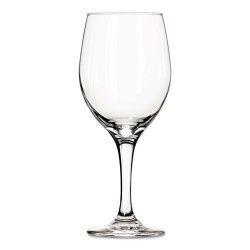 Libbey - 10031009077561 - Perception Glass Stemware, White Wine, 20 oz, Clear, 12/Carton