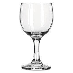 Libbey - 10031009370105 - Glasses 6.5oz Rnd Wine 24