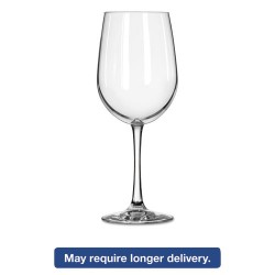 Libbey - 10031009071217 - Vina Fine Glass Stemware, Tall Wine, 18.5oz, 9 1/8 Tall, 12/Carton
