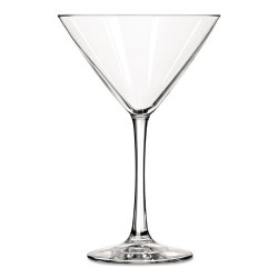 Libbey - 10031009376619 - Vina Fine Cocktail Glasses, Martini, 10 oz, 7 1/4Tall, 12/Carton