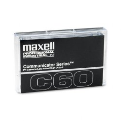 Maxell - 102411 - Maxell Communicator Type I Audio Cassette - 1 x 60Minute - Normal Bias