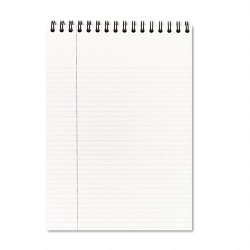 Acco Brands - 0609006 - Top Bound Ruled Meeting Notebook, Legal Rule, 8 1/2 x 11, 96 Sheets