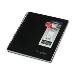 Acco Brands - 06100 - Hardbound Notebook with Pocket, Legal Rule, 11 x 8 1/2, White, 96 Sheet Pad