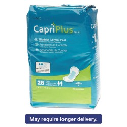 Medline - BCPE01 - Capri Plus Bladder Control Pads, Regular, 5 1/2 x 10 1/2, 28/Pack