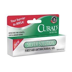 Medline - CUR45951RB - Silver Solution Antimicrobial Gel, .5oz Tube
