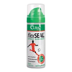 Medline - CUR76124RB - Flex Seal Spray Bandage, 40mL